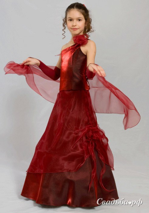 Вечернее платья для девочек